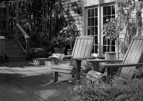 PPG performance coatings seen on patio furniture