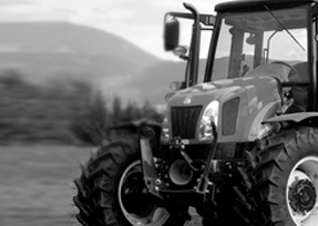 PPG industrial coatings seen on agricultural equipment